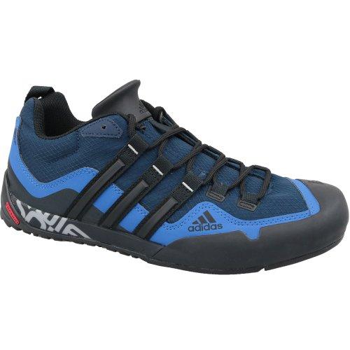 adidas Terrex Swift Solo EF0363 Mens Navy Blue trekking shoes