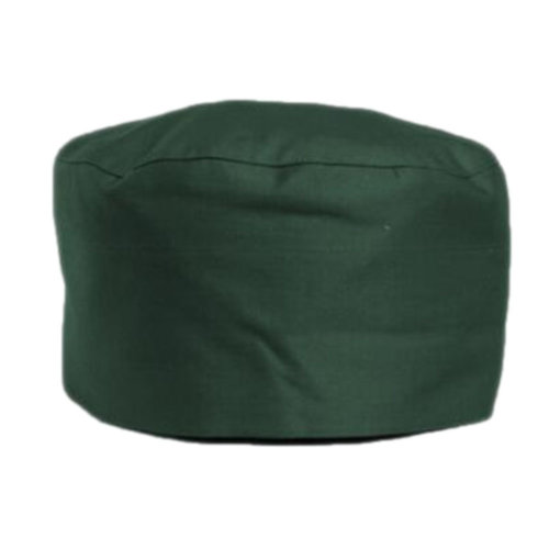 Japanese Fashion Cook Hats Hotel Cafe Flat Hat Adjustable Chef Hats-Dark Green