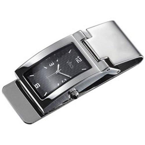 Visol VPW010 Maxwell Carbon Fiber Premium Qualiy Watch Money Clip