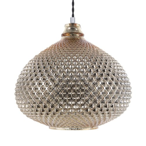 Pendant Lamp Glass Gold MADON