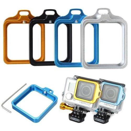 Aluminum Metal Lanyard Lens Ring Mount With Screwdriver Kit For GoPro Hero 3 Plus / 4