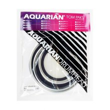 Aquarian EXTC-B Bonus Pack Texture Coated (12,13,14 Inch & TC14) Drum Heads