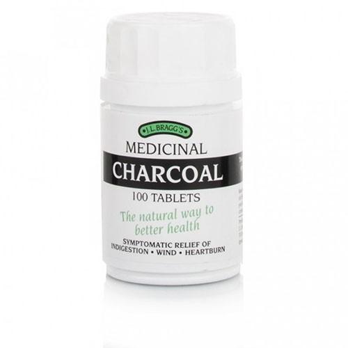 Braggs Charcoal 300mg - 100 Tablets