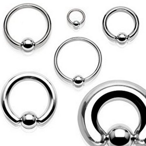 Ball CBR Surgical Steel Captive Bead Ring Universal Piercing Body Jewellery