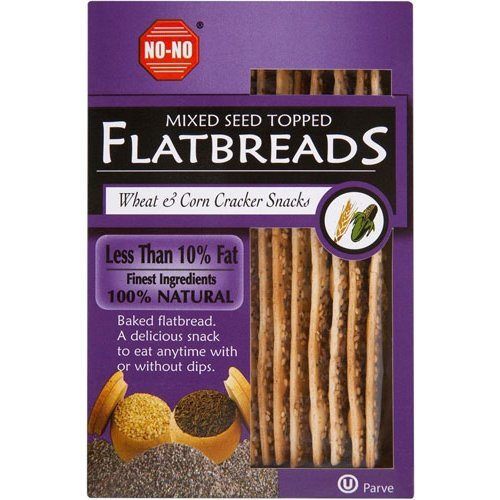 No-No Flatbreads  Flatbreads - Mixed Seed 130g x 12