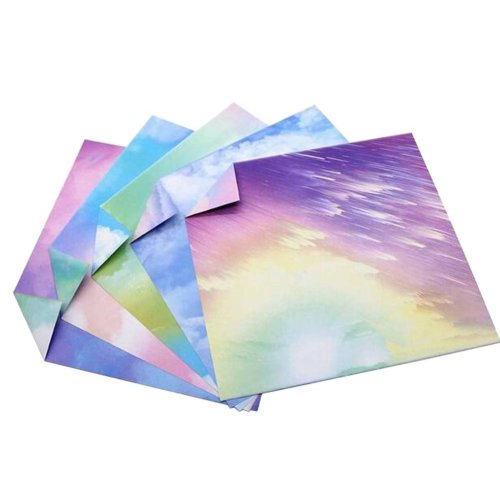 135 Sheets Colorful Square Origami Papers Craft Folding Papers #28