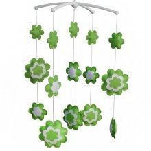 [Blooming] Cute Decor Hanging Toys, Musical Mobile, Hanging Flowers
