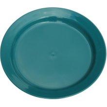 21.5cm Green Polythene Deep Plate -  strider 21cm 8 14 green poly plate plates separates sets 323g
