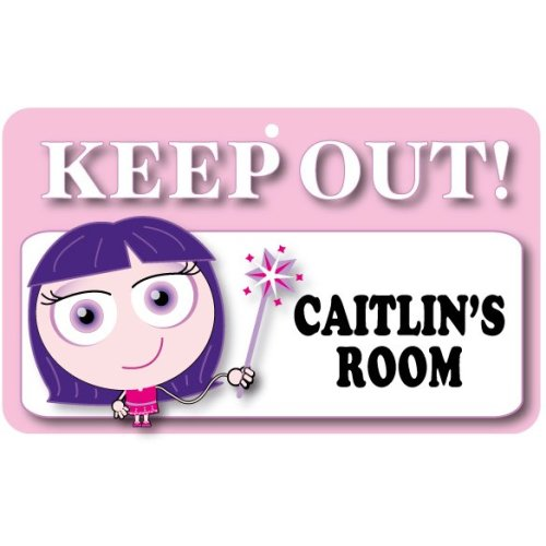 Keep Out Door Sign - Caitlin's Room