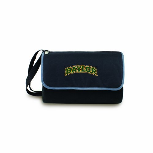 NCAA Baylor Bears Outdoor Picnic Blanket Tote, Black