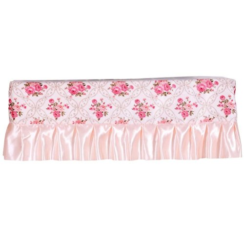 Floral Pattern Air Conditioner Dust Cover Protective Cover Room Decoration 1 piece (A)