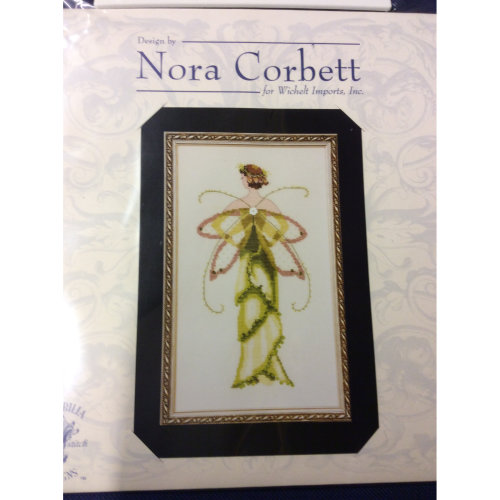 Pixie Couture Collection Amaryllis Counted Cross Stitch Chart Pattern
