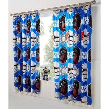 "Star Wars Force Awakens Curtains - 66 x 54"" | Kids' Star Wars Curtains"