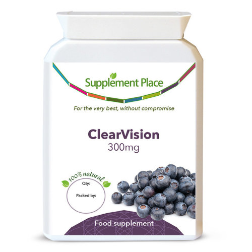 ClearVision - French Maritime Pine Bark and Bilberry Extract (Glaucoma Remedy)