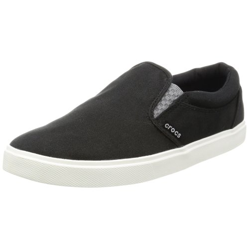 Crocs Citilane Slip-on Sneaker Men Low-Top (Black/White), 10 UK (11 US)