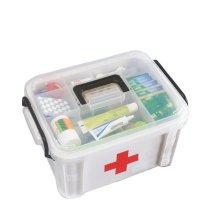 "Creative Large Portable Medicine Kit Travel Medical Box,13""x9.5"",Random Color"