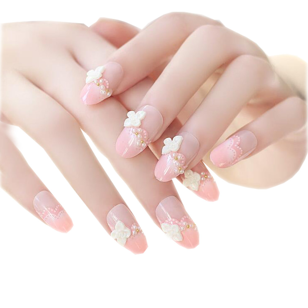 Satellite Flowers Nail Art Stickers Decals Diy Decoration Tools 24