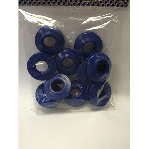 10 Pairs Blue Plastic Self Sealing Grommets -snap Eyelets For Groundsheet - -  pairs self sealing grommets plastic snap 10 tarpaulin eyelet repair