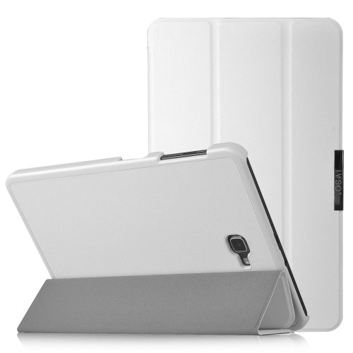 IVSO Slim Smart Cover Case for Samsung Galaxy tab A 10 1(White)