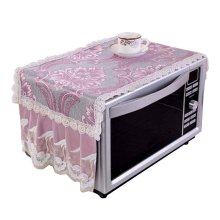 Stylish Microwave Oven Dust Cover Dustproof Cloths Purple