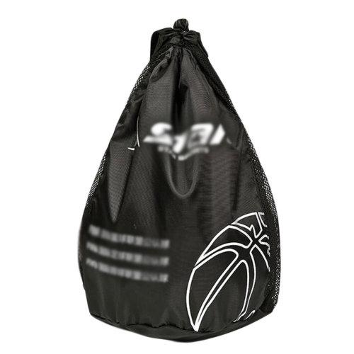 Basketball Volleyball Soccer Pocket Training Backpack Outdoor Sport Organizer Bag-Black