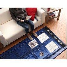 """Doctor Who TARDIS Rug - Size 71"""" x 39"""""""