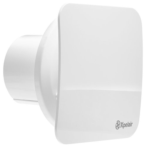 Xpelair C4HTS Simply Silent 4 Square Bathroom Extractor Fan with Humi