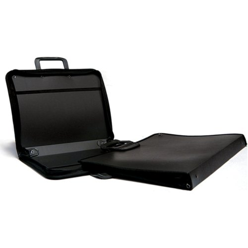 "Stiff Black Nylon Portfolio-17""X22"""