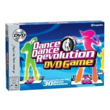 Dance Dance Revolution DVD Game