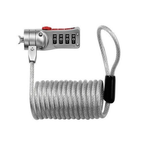 Master Lock 2120E Combi Computer Cable Lock 1.8m x 5mm
