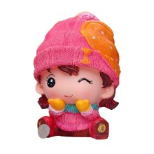Cute Doll Money Bank Unique Birthday Gift Money Boxes,8.7''