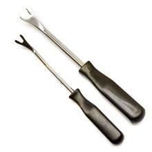2pc mini pry bar set / trim / clip removal kit AT742