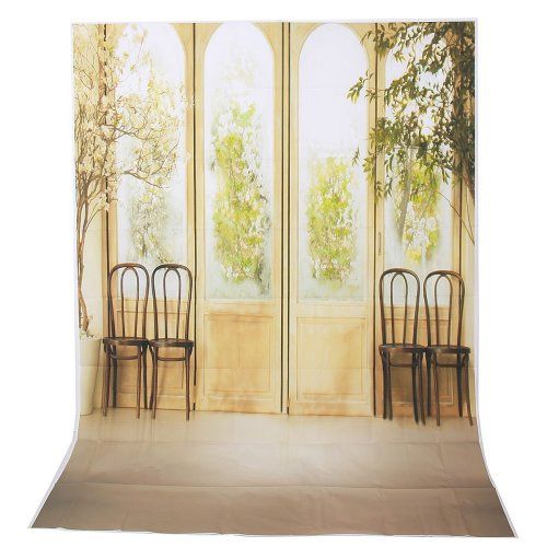 1.5x2.1m 5x7ft Vintage Chinese Screen Vinyl Studio Photography Backdrop Props Background