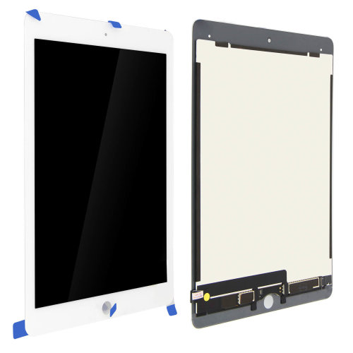 LCD replacement part with touchscreen for Apple iPad 9.7 2017, iPad 5 – White