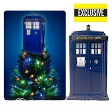 Doctor Who TARDIS Light-Up Christmas Tree Topper - Exclusive