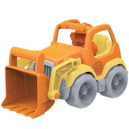 Green Toys Scooper Truck Vehicle with Character, BPA Free