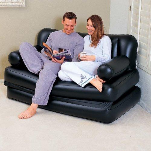 Bestway 5-in-1 Inflatable Sofa Black 75054
