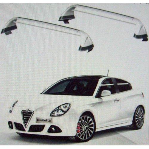 Alfa Romeo Giulietta Genuine New Lockable Roof Bars 50903328