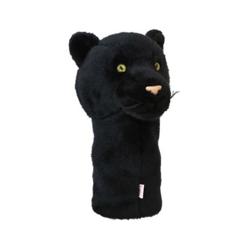 Daphnes Black Panther Golf Driver Headcover