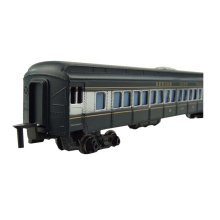 2 Pieces Simulation Railway Carriages Toy/Train Car Toy, M(26*3.5*5CM)