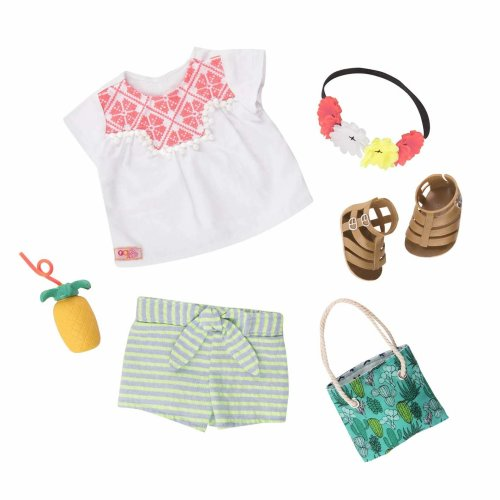 Our Generation Dolls Outfit Fashion Fiesta Deluxe Set