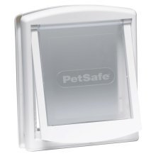 PetSafe 2-Way Pet Door 715 Small 17.8x15.2 cm White 5017