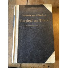 """1883 """"PARZIVAL AND TITUREL"""" BY MEDIEVAL KNIGHT W. V. ELCHENBACH BOOK"""