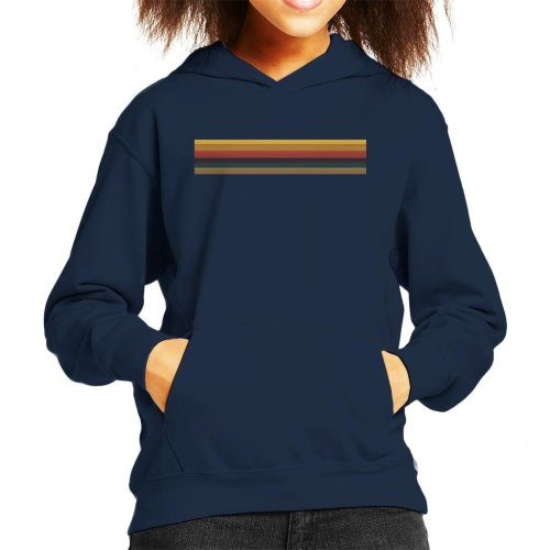 (Medium (7-8 yrs)) Thirteenth Doctor Who Jodie Whittaker Rainbow Kid's Hooded Sweatshirt
