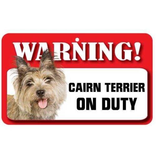 Cairn Terrier Pet Sign