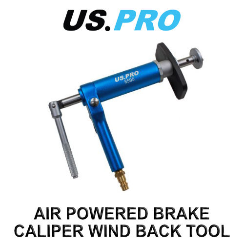 US PRO Air Powered Brake Piston Caliper Wind Back Tool 8595