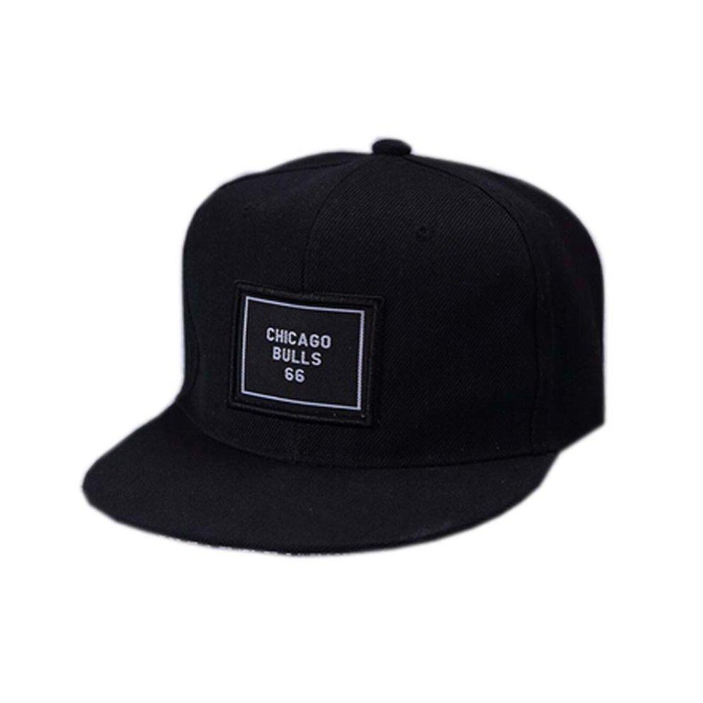 914f36aca Woolen Rivets Fashion Baseball Cap Hip-Hop Hat ( Adjustable, Pure Black)