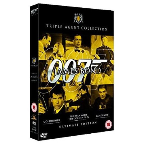 James Bond: Ultimate Golden Triple Pack [DVD] [1964] [DVD] [1964]
