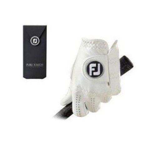 FootJoy Pure Touch - Golf Gloves for Left Hand Color: White Size: S