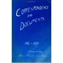 Correspondence and Documents, 1901-25